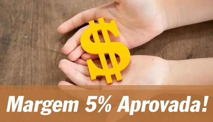 Margem 5%